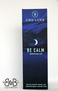 """cbd """"be calm"""""""