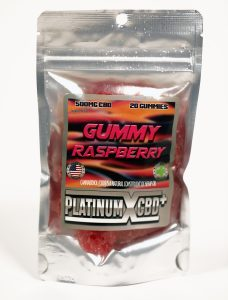 Raspberry CBD Gummy